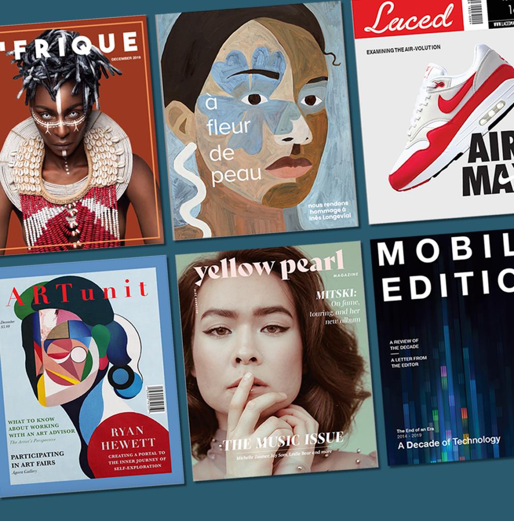 student designed magazine